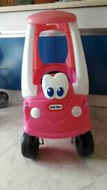 Little tikes rare edition pink car coupe tykes christmas