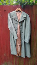 Vintage Mint Green Lacoda Modell light summer coat size 36