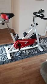 Ladies spin bike