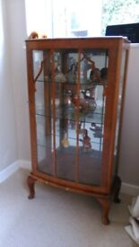 1950's display cabinet