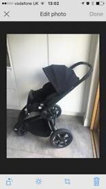 Quinny moodd pushchair black stroller buggy travel system