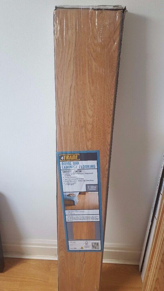 Laminate Flooring 4 Packs Of Royal Oak Laminate Flooring Total