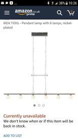 Ikea tidig ceiling light