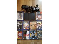 PS2 Slim Console With 10 Games