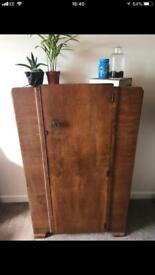 Vintage wardrobe cabinet dresser £50 ono