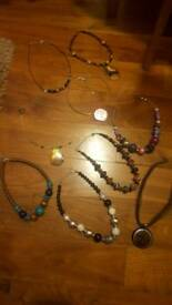 28 necklaces, beads, costume jewellery, accessories