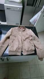 Womans gold bomber jacket