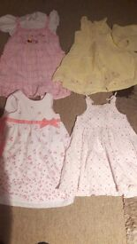 Girls clothes age 12-18months