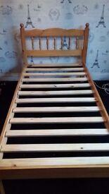 Pine bedroom furniture set ( 3 piece ).