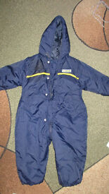baby snowsiut size 12-18m from marks and spencer