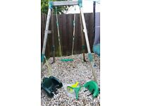 TP Childs swing with Quadpod seat