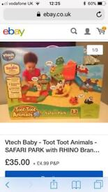 Vtech Toot Toot Animals safari park