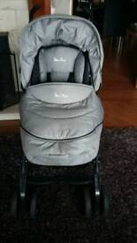 Pram for sale silver cross