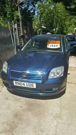TOYOTA AVENSIS T3X AUTOMATIC AIR CONDITIONING 2004/04