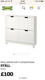 Ikea shoe cabinet