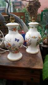 Aynsley lamp bases country style