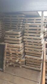 X150 riven paving slab moulds patio pack flags tiles