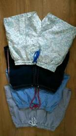 5 pairs summer swimming shorts size S