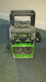 Hitachi radio charger and speaker