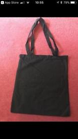 Black bag - cotton bags x75