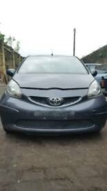 Toyota aygo breaking for parts 06-12 1.4D