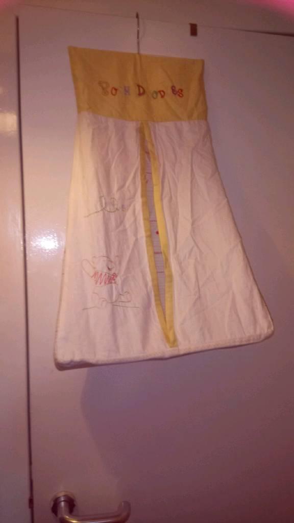 Winnie pooh nappy holder