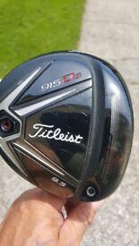 Titleist 915 d3 golf driver