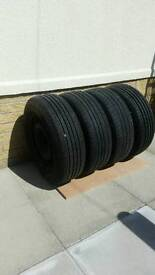 15 inch steel wheels with 195 65 15 tyres