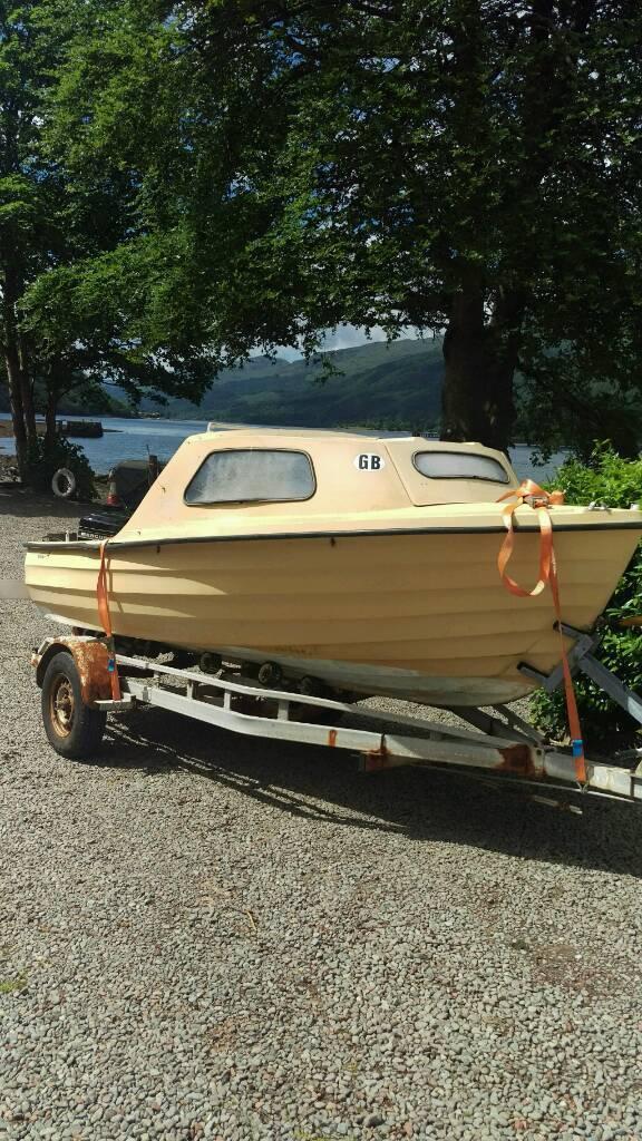 14 foot boat bonwitco 400   in Arrochar, Argyll and Bute   Gumtree