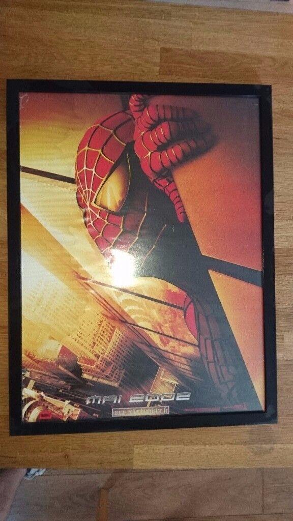 Rare Spiderman Poster - Framed