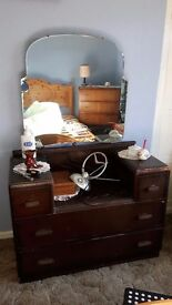 1950 vintage dressing table
