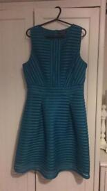 Warehouse sleeveless skater dress