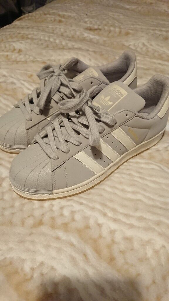 Mens Grey Adidas Superstar UK Size 7. Brand New. | in Southside, Glasgow | Gumtree
