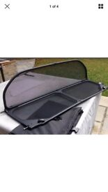 BMW 3 series wind deflector with case