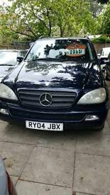 MERCEDES ML270CDI 2004 7 SEATER AUTOMATIC
