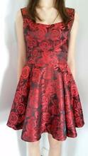 Rose Red tailored dress - perfect for races and weddings Keperra Brisbane North West Preview