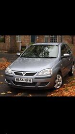 Vauxhall Corsa 1.2 petrol silver lady owners new tyres .LOW MILES!