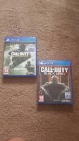 Call of Duty Infinite Warfare & Black Ops 3