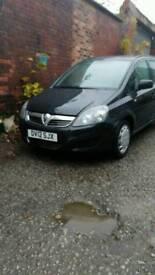 Vauxhall zafira 1.7 cdti ecoflex 2012