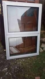 Double glazed opening windows