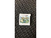 Sonic generations 3ds game £5 Ono