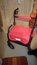 Sit or walk with this trolly brilliant for disability