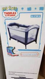 Brand new Thomas the tank engine travel cot