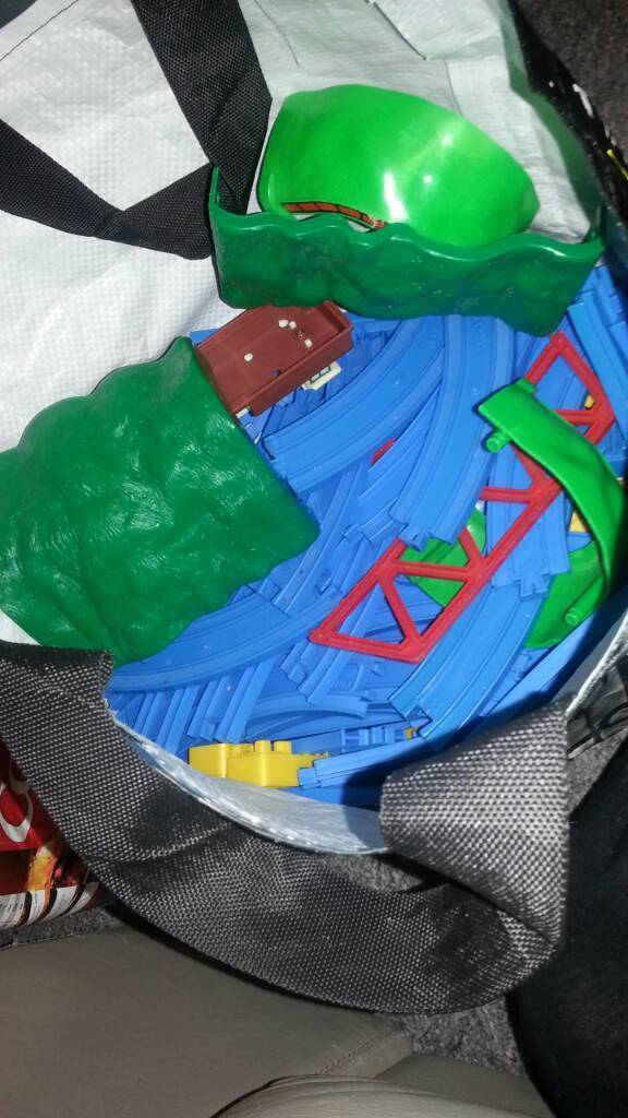 Bag of Thomas and Friends track