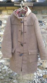 Mens traditional English duffle coat
