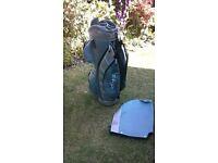 Golf bag & trolley