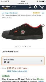 New Unisex Lee Cooper Safety Shoes
