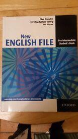 New English File: Pre-intermediate Student's Book: Student's Book Pre-intermediate lev, Oxford