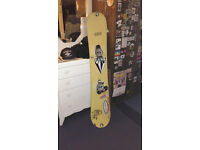 Snowboard with bindings £30 for quick sale