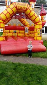 Camelot commercial bouncy castle